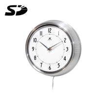 SD Card Self Recording Covert Spy Camera (Camera Hidden in Wall Clock)