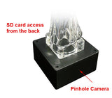 SD Card Self Recording Covert Spy Camera (Camera Hidden in Sculpture Base)