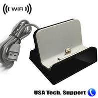 Spy Camera with WiFi Digital IP Signal, Recording & Remote Internet Access, Camera Hidden in a IOS or Android Charging Station by SCS Enterprises ®