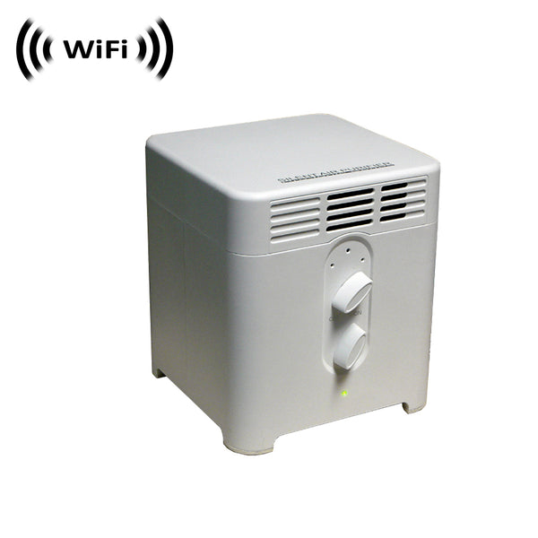 WF-410 : 1080p IMX323 Sony Chip Super Low Light Spy Camera with WiFi Digital IP Signal, Recording & Remote Internet Access, Camera Hidden in an Air Purifier