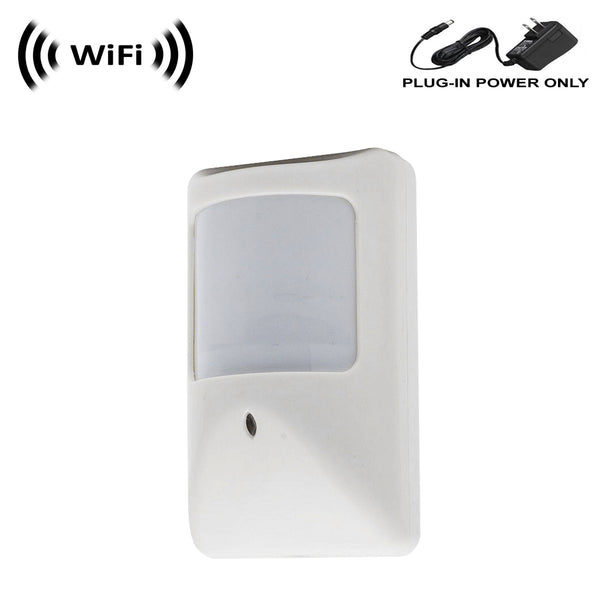 WF-450A : 1080p IMX323 Sony Chip Super Low Light Spy Camera with WiFi Digital IP Signal, Recording & Remote Internet Access, Camera Hidden in a Compact PIR Motion Detector Housing