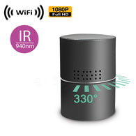 WF-475B : 1080P WiFi IP Wireless Spy Camera Hidden in Fully Functional Bluetooth Speaker w/ Rotating Lens & Night Vision by SCS Enterprises ®