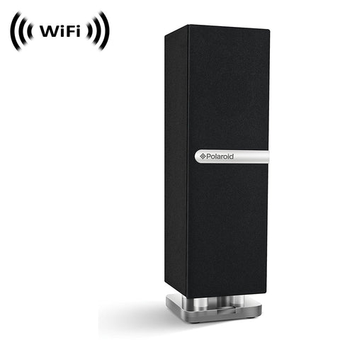 WF-477 : 1080p IMX323 Sony Chip Super Low Light Wireless Spy Camera with WiFi Digital IP Signal, Recording & Remote Internet Access (Camera Hidden in Bluetooth Mini Desk Tower Speaker)