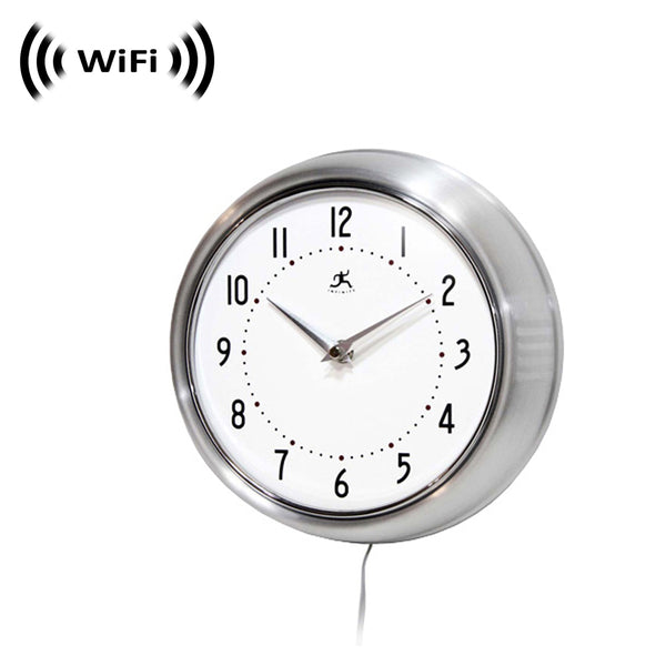 WF-800 : 1080p IMX323 Sony Chip Super Low Light Wireless Camera with WiFi Digital IP Signal, Recording & Remote Internet Access (Camera in a Wall Clock