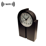 WF-850 : WiFi IP Wireless Spy Camera Hidden in Design Clock by SCS Enterprises ®