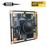 AHD-2035HDPSC : 1080P 2.0MP HD Spy Hidden AHD/CVI/CVBS (composite video) Camera with 940nM Pinhole Lens