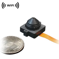WF-100PCX : WiFi IP Wireless Spy Camera (hidden external pinhole lens) by SCS Enterprises ®