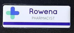Sublimation Name Badge