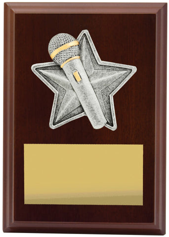 Plaque Peak Public Speaking 150mm