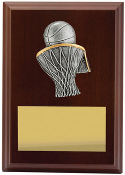 Plaque Peak Basketball 150mm