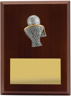 Plaque Peak Basketball 200mm