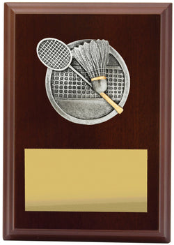 Plaque Peak Badminton 150mm
