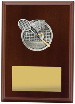 Plaque Peak Badminton 175mm
