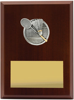 Plaque Peak Badminton 200mm