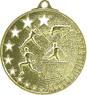MH941G - Little Athletics Stars Medal Gold