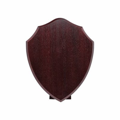 SS18 - Rosewood Shield with Stand 460mm