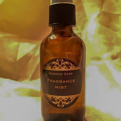 Frankincense and Myrrh Body Mist Spray, and room Deodorizer 3 oz.