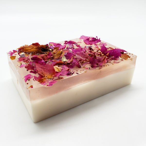 Rose Water Pink Soap Vegan and Kosher