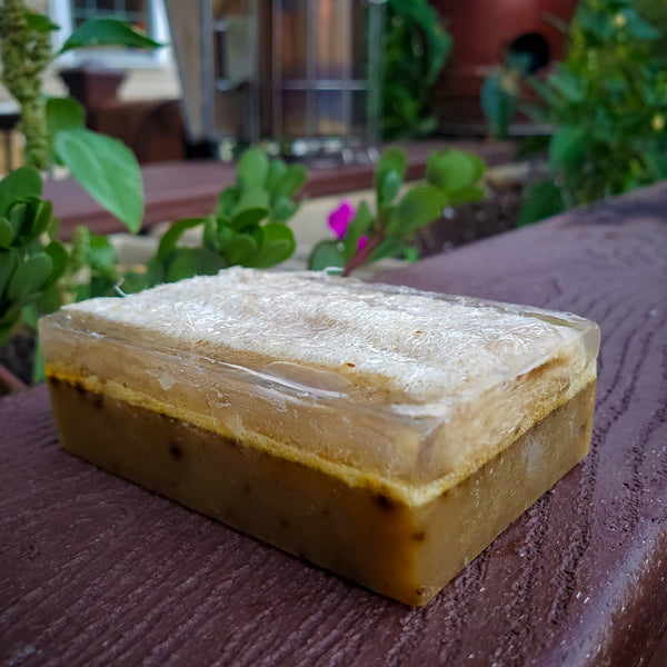 Green Tea Matcha Scrub Soap