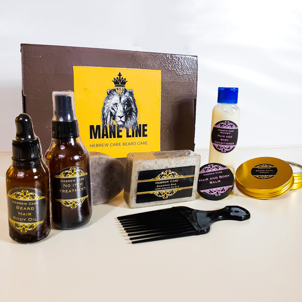 MANE LINE BEARD CARE KIT