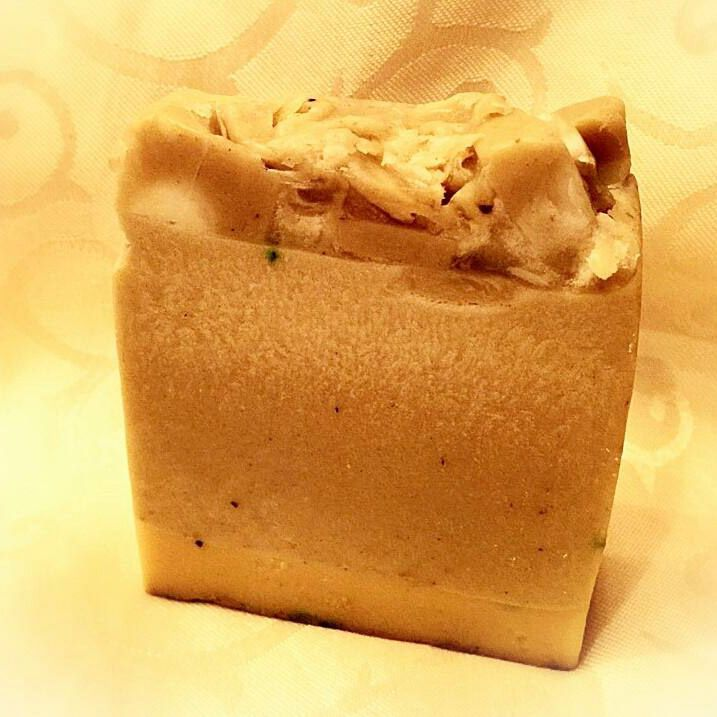 Jumbo Premium Turmeric Soap with Aloe - Hebrew Care
