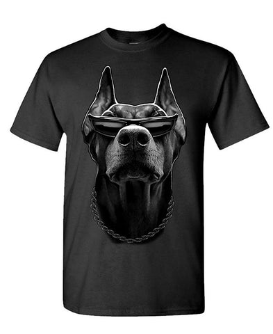 Doberman Crew Neck Shirt