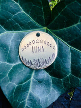 Moon phases Dog Tag