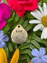 Flower Garden Dog - Tag
