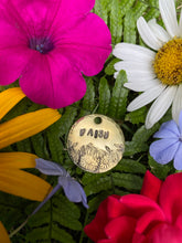 Flowers in Bloom Dog - Tag