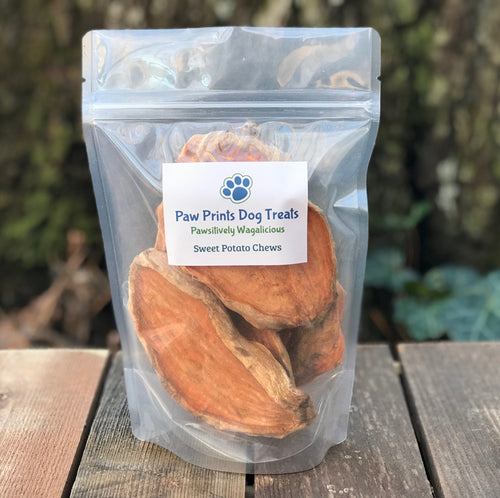 Dehydrated Sweet Potato Chews 6oz