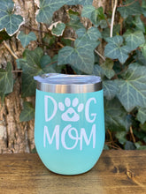 Dog Mom Wine Tumbler