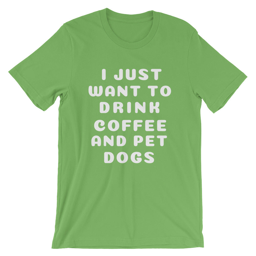 COFFEE AND DOGS