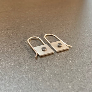 LITTLE RIVET EARRINGS