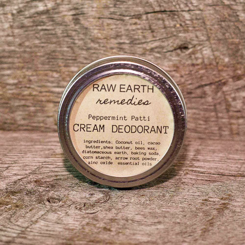 CREAM DEODORANT - PEPPERMINT PATTI
