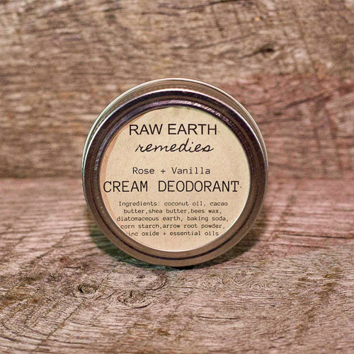 CREAM DEODORANT - ROSE & VANILLA