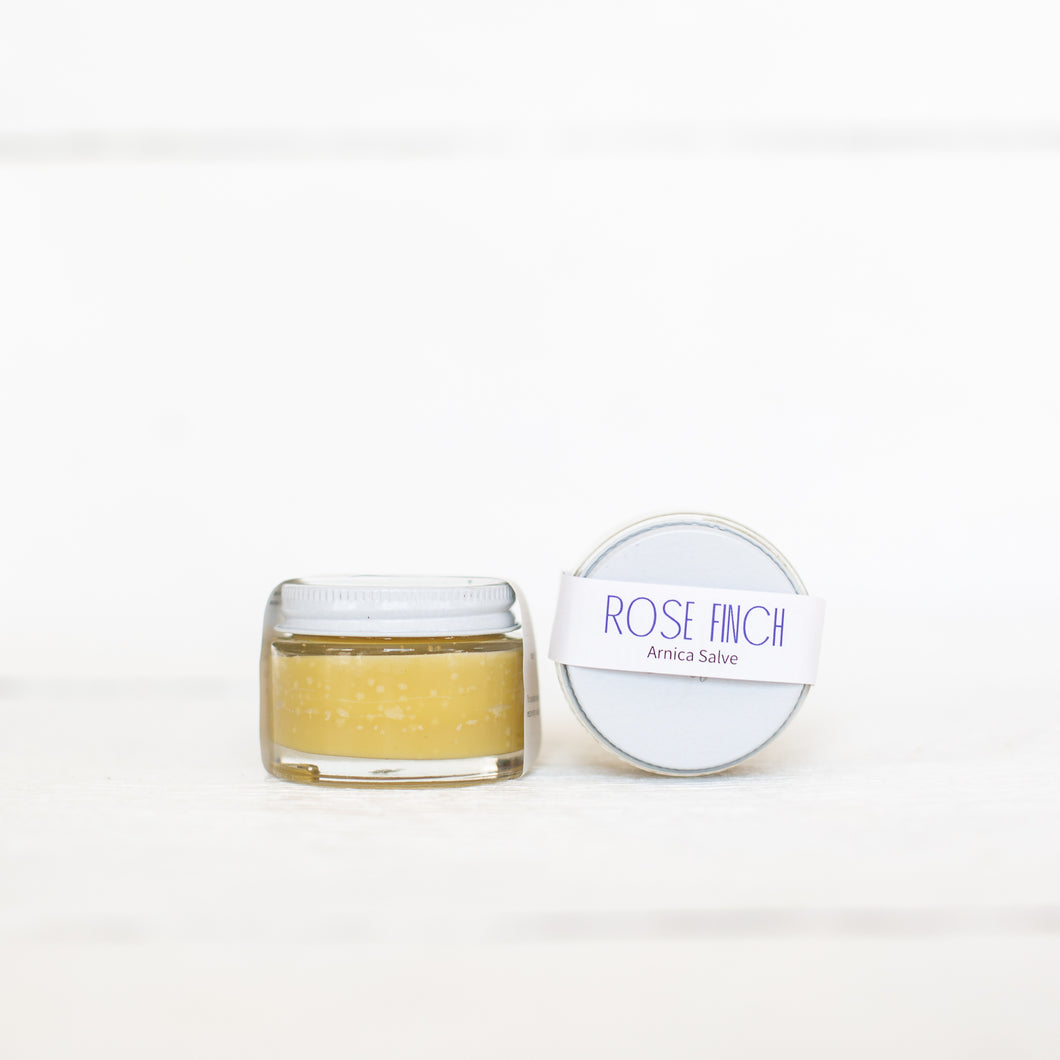 ROSE FINCH ARNICA SALVE - FREE SAMPLE WITH ANY PURCHASE