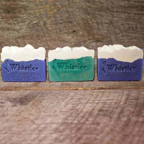 WHISTLER BLUE SOAP BAR TRIO