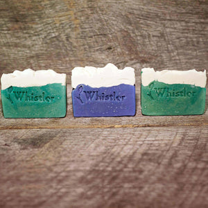 WHISTLER GREEN SOAP BAR TRIO