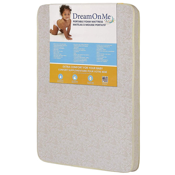 "Pack and Play Mattress - Extra 3"" of Padding"