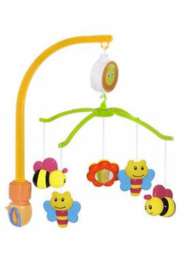 baby crib mobile. attaches to any crib