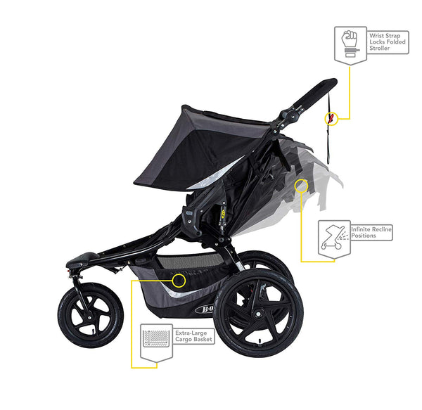 Double Bob Jogging Stroller, Bob Jogging stroller on Maui, Maui baby rentals, Maui baby equipment