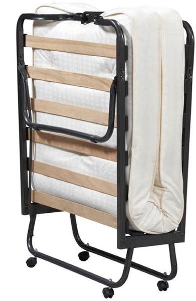 Rollaway Twin Bed with Sheet Set & Blanket