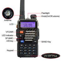 BaoFeng UV-5R Plus Black (Pick up only) - Goodman Electronics Outlet