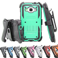Armor Hybrid Hard Case Cover+Holster With Belt Clip For Samsung devices - Goodman Electronics Outlet