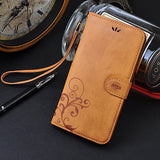 Leather Wallet Case For iPhone 5s SE 5 7 Plus 6 6S Plus - Goodman Electronics Outlet