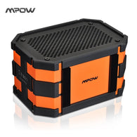 Mpow Updated Armor Bluetooth Speaker Passive Loudspeakers Portable Waterproof Outdoor MP3 Speakers Power Bank for iPhone Xiaomi - Goodman Electronics Outlet