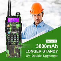 Baofeng UV-5R Camouflage Upgrade With 3800mAh Big Battery - Goodman Electronics Outlet