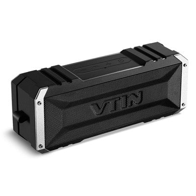 VTIN Portable Wireless Bluetooth Speaker Dual 10W Drivers with Passive Radiator and Mic - Goodman Electronics Outlet