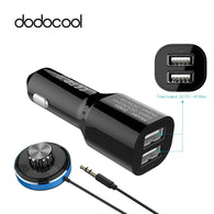 Dodocool Bluetooth 4.0 Hands Free Car Kit Dual USB - Goodman Electronics Outlet