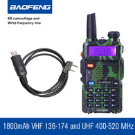BAOFENG UV-5R Camouflage Walkie Talkie Handheld Radio - Goodman Electronics Outlet